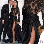 Morgan Brittany Osman Cannes 2018 party AmFar total look Philipp Plein