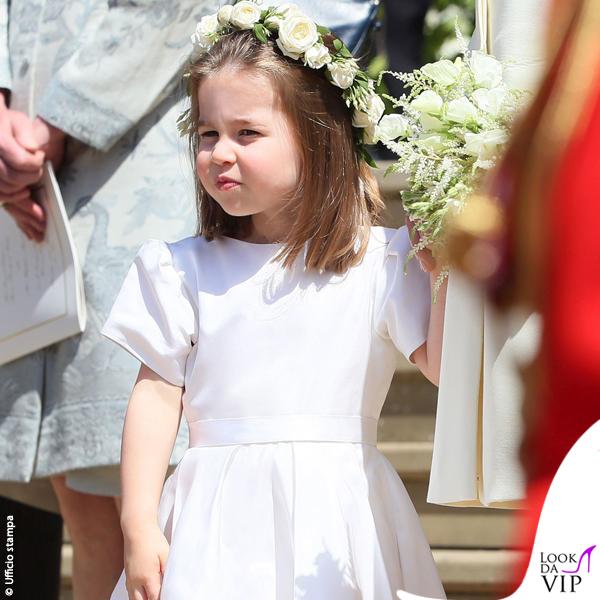Royal Wedding principessa Charlotte abito scarpe Givenchy