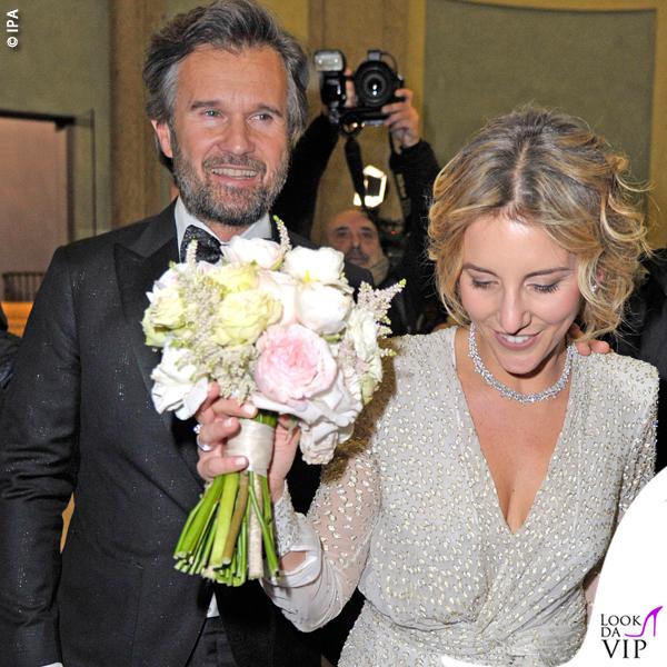 matrimonio Carlo Cracco abito Etro Rosa Fanti abito Redemption