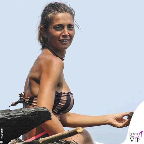 Alessia Mancini Isola dei Famosi bikini Effek