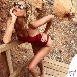 Alessia Marcuzzi costume Ele Collection