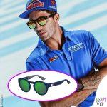 Andrea Iannone occhiali da sole Tommy Hilfiger