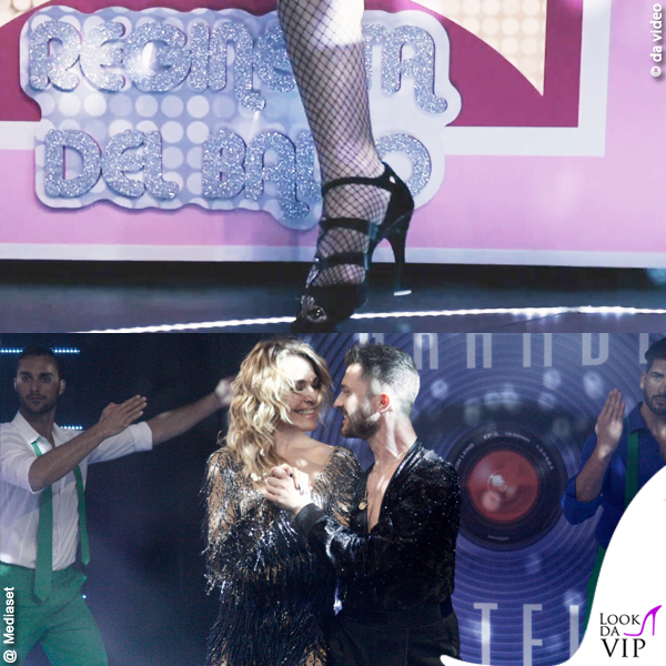 Barbara d'Urso Grande Fratello finale look regina del ballo