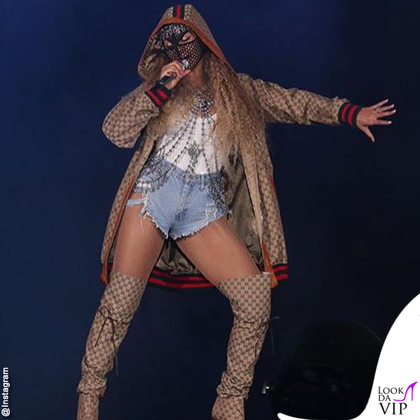 Beyoncé On The Run II World Tour total outfit Gucci