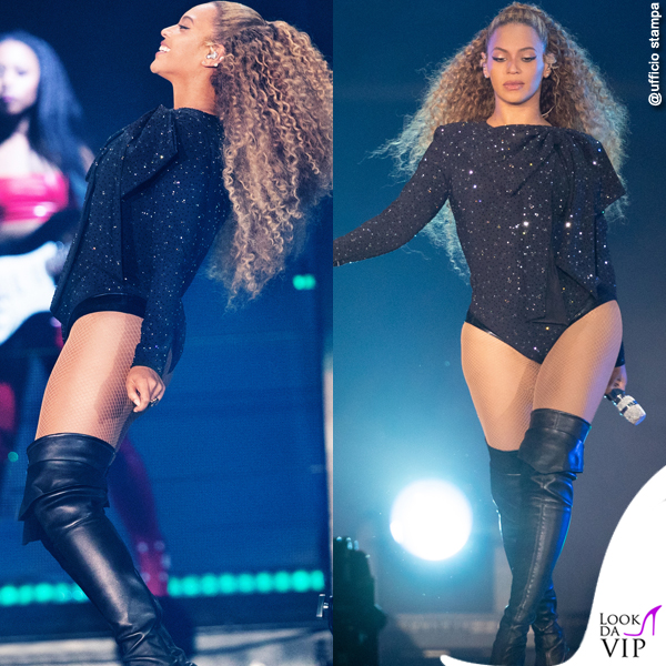 Beyonce On The Run II World Tour total look Givenchy 2