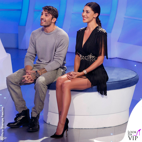 C'è posta per te Andrea Iannone Belen Rodriguez abito Elisabetta Franchi