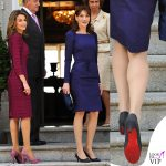 Carla Bruni scarpe Christian Louboutin Letizia di Spagna
