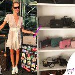Chiara Ferragni borsa Chanel Timeless grigia
