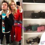 Chiara Ferragni borsa Chanel Timeless tricolor