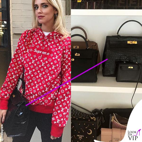 Chiara Ferragni borsa Hermes Kelly
