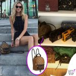 Chiara Ferragni zaino Louis Vuitton Palm Springs mini