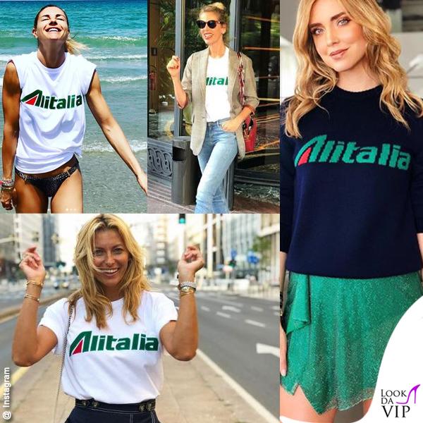 new styles 20801 d5088 Tutte pazze per Alitalia by Alberta Ferretti   Lookdavip.it