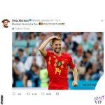 Dries Mertens biondo twitter