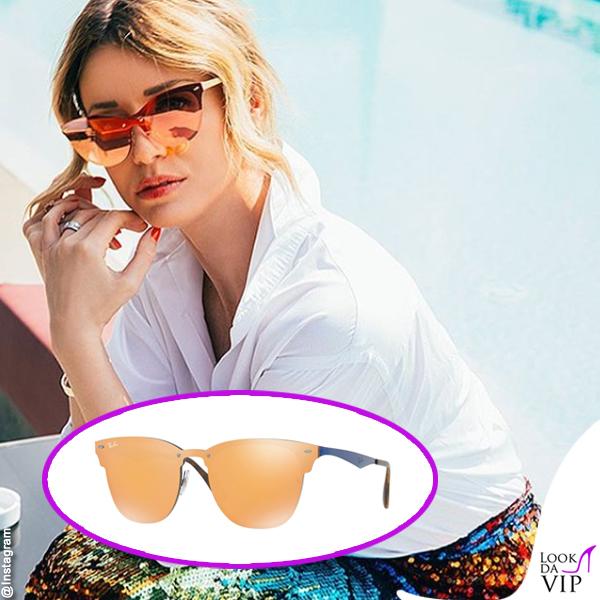 Elena Barolo occhiali da sole Ray Ban