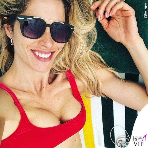 Elena Santarelli bikini Mermazing