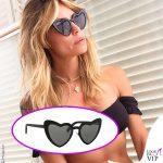 Elenoire Casalegno occhiali da sole Saint Laurent