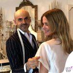 Filippa Lagerback abito da sposa Enzo Miccio