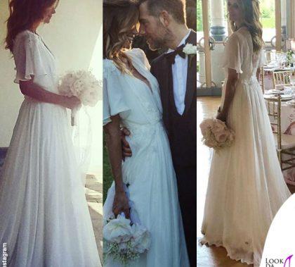 Filippa Lagerback abito da sposa Enzo Miccio Daniele Bossari abito Etro nozze Lagerbak Bossari