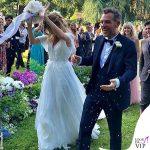 Filippa Lagerback abito da sposa Enzo Miccio nozze Lagerbak Bossari