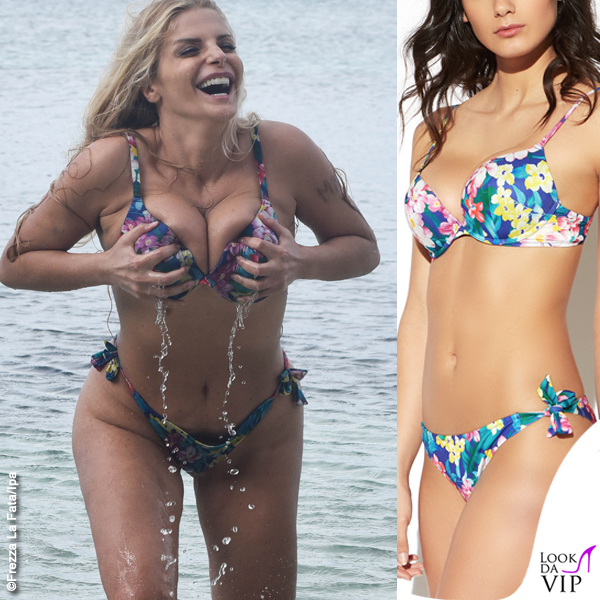 Francesca Cipriani Isola bikini Yamamay