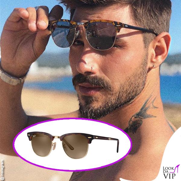 Francesco Monte occhiali da sole Ray Ban