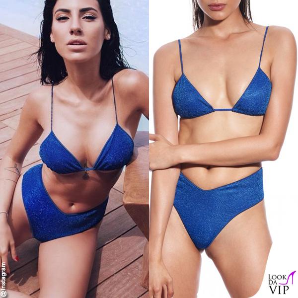 Giulia De Lellis costume Bikini Lovers