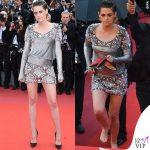 Kristen Stewart Festival di Cannes abito Chanel scarpe Louboutin