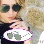 Laura Chiatti occhiali da sole Marc Jacobs