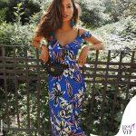 Mariana Rodriguez abito Shiki Moda marsupio Gucci