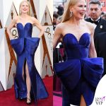 Nicole Kidman Oscar 2018 abito Armani scarpe Christian Louboutin