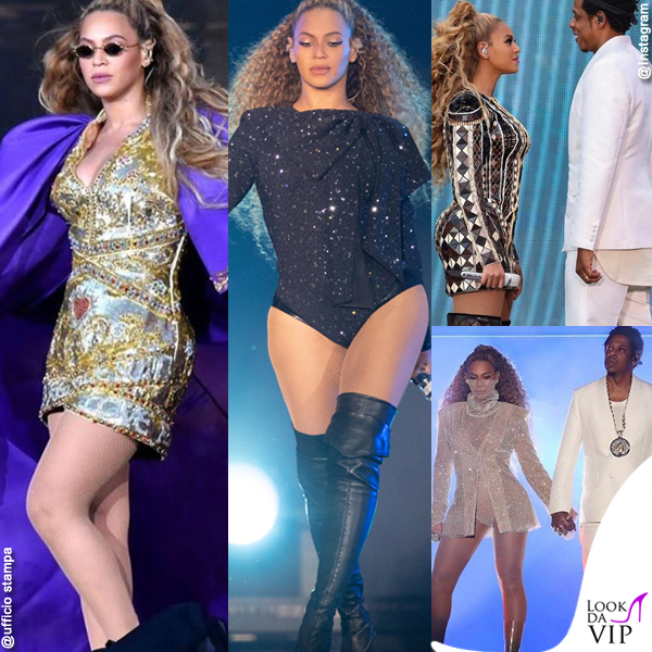On The Run II World Tour Jay-Z Beyoncé look DunDas Givenchy Balmain La QuanSmith Jay-Z look Givenchy