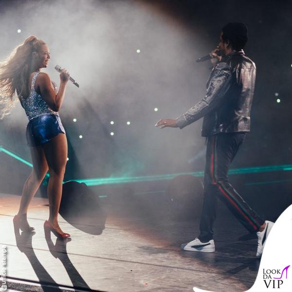 On The Run II World Tour Jay-Z Beyoncé scarpe Sergio Rossi