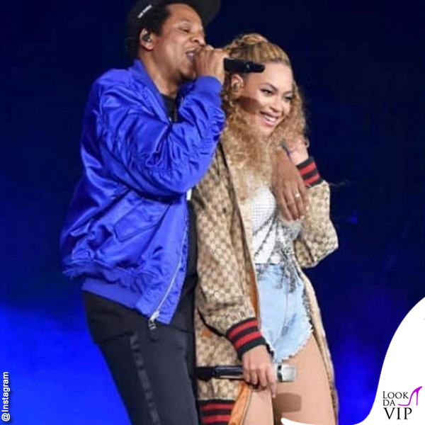 On The Run II World Tour Jay-Z Beyoncé total outfit Gucci
