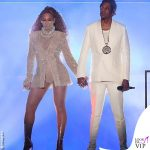 On The Run II World Tour Jay-Z completo Givenchy scarpe Puma Beyoncé total outfit LaQuan Smith 2