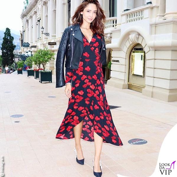 Patricia Contreras abito Zara giacca Dsquared scarpe Dior