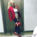 Wanda Nara borsa Dolce Gabbana 2