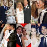 Anniversari vip: viaggio tra gli abiti da sposa