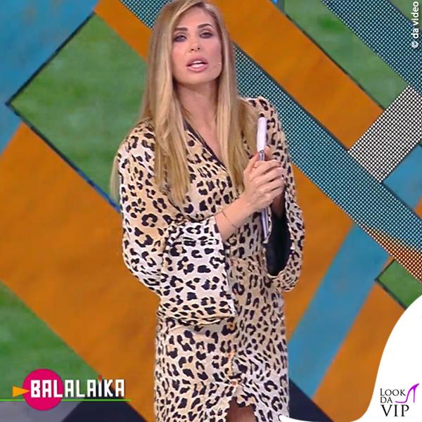 Balalaika puntata 4 Ilary Blasi abito Uel Camilo 1