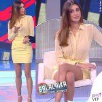 Balalaika puntata 6 Belen Rodriguez total look Elisabetta Franchi 8