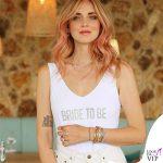 Chiara Ferragni Ibiza addio al nubilato costume intero Calzedonia