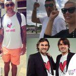 Christian Vieri, la <i>Bobo dance</i> è sulla t-shirt