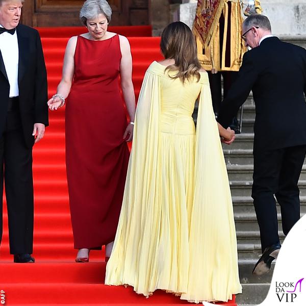 Melania Trump abito J. Mendel