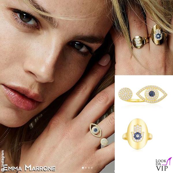 Emma Marrone testimonial gioielli APM Monaco ETE collezione