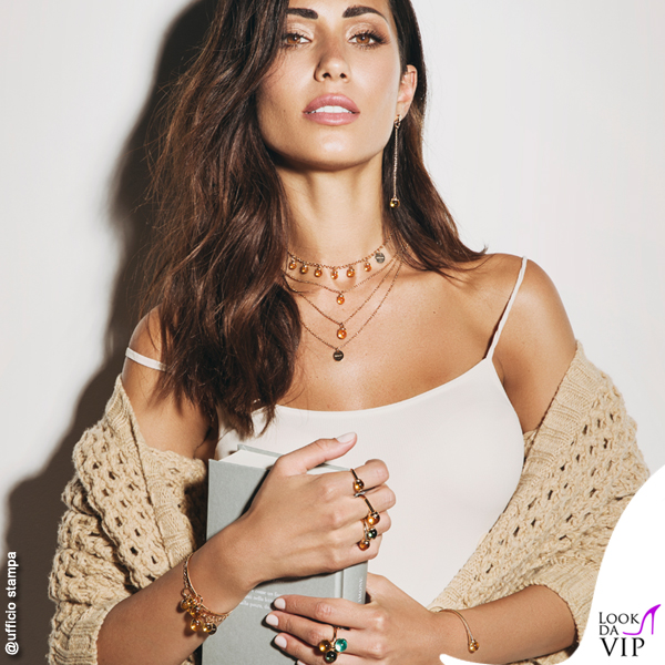 Federica Nargi testimonial gioielli Rebecca 2