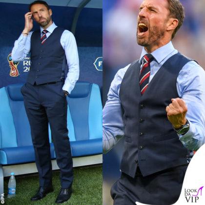 Gareth Southgate Mondiali 2018 gilet Marks & Spencer