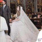 Laura Chiatti Marco Bocci matrimonio 5 luglio 2014 abito da sposa Prada abito Armani