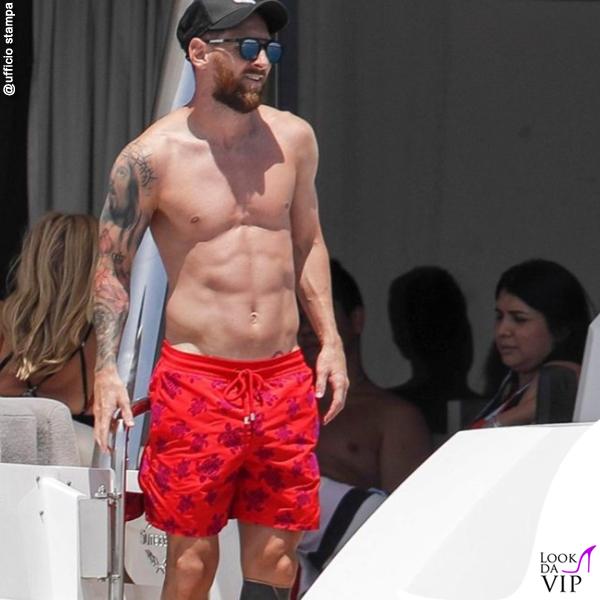 Lionel Messi costume Villebrequin