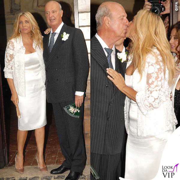 Mara Venier Nicola Carraro matrimonio 28_06_2006