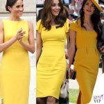 Da Amal a Melania, com'è chic l'abito giallo!