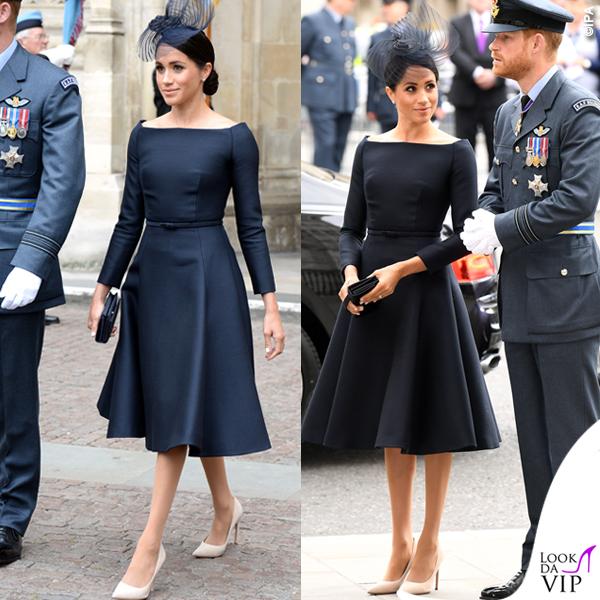 Meghan Markle abito nero Dior
